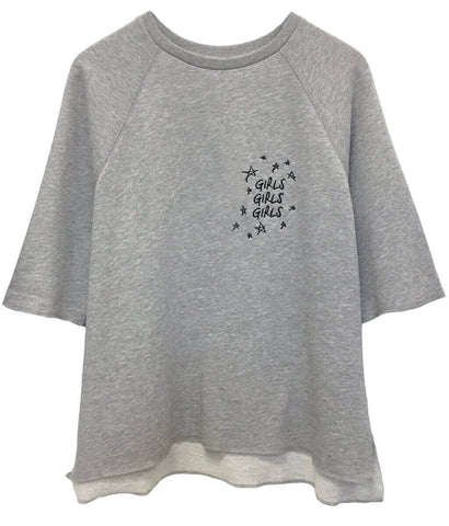 Julie - Short Sleeve Sweatshirt - Girls Girls Girls