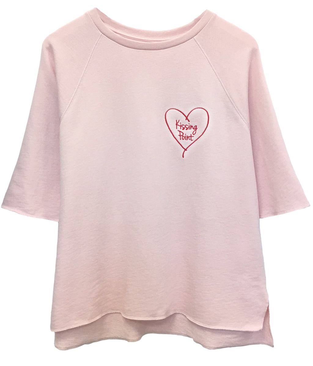 Julie - Short Sleeve Sweatshirt - Kissing Point
