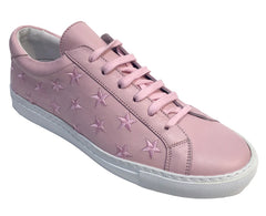 Stars - Lace up Sneaker - Pink