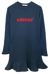 Milly - Sweatshirt Dress - Amour