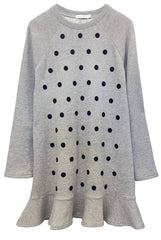 Milly - Sweatshirt Dress - Polka Dots