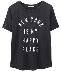 Lola - Loose Tee - New York Is My Happy Place