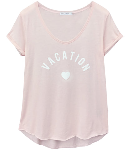 Valerie - V-neck Tee - Vacation