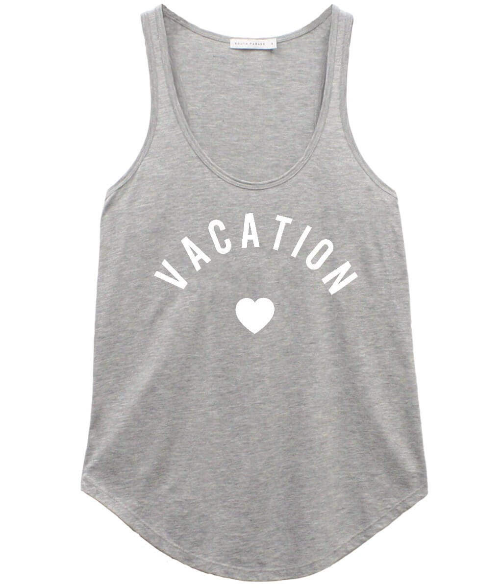 Bella - Racer Back Tank - Vacation