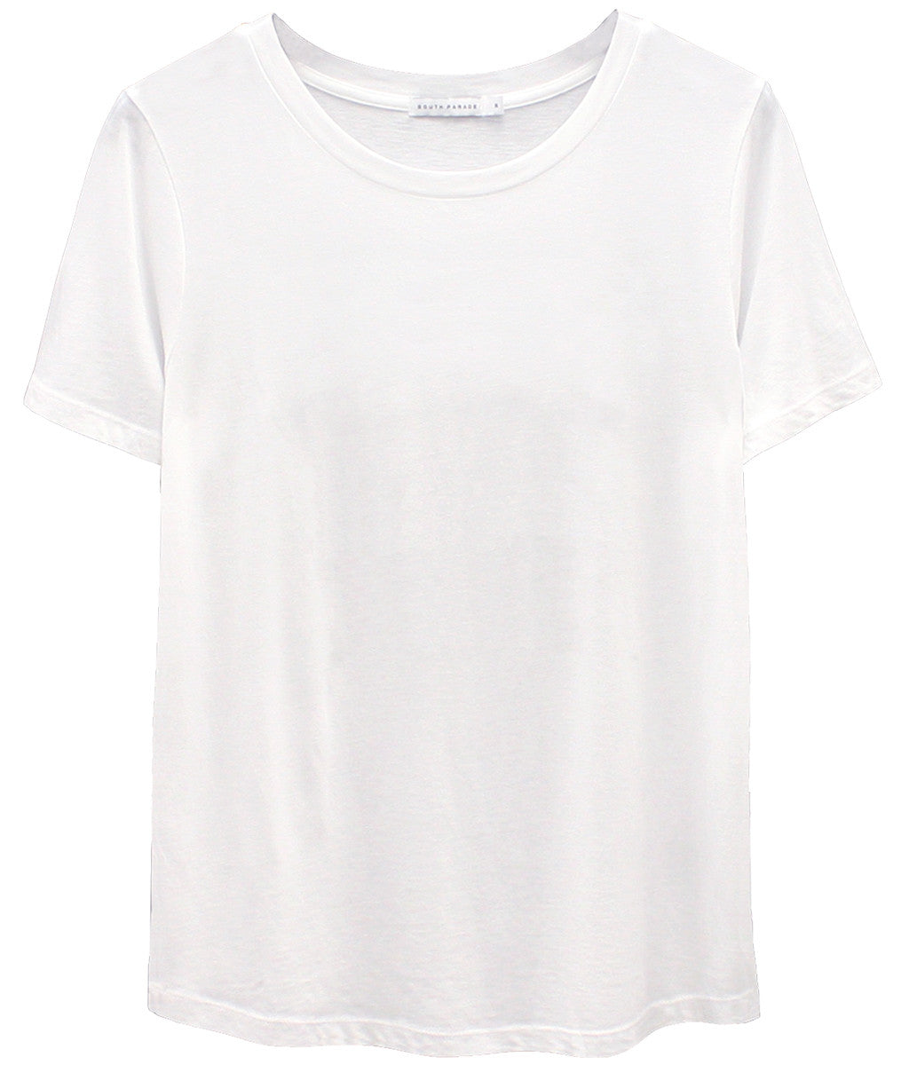 Lola - Basic Loose Tee - White