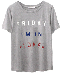 Lola - Loose Tee - Friday I'm In Love