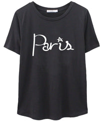 Lola - Loose Tee - Paris