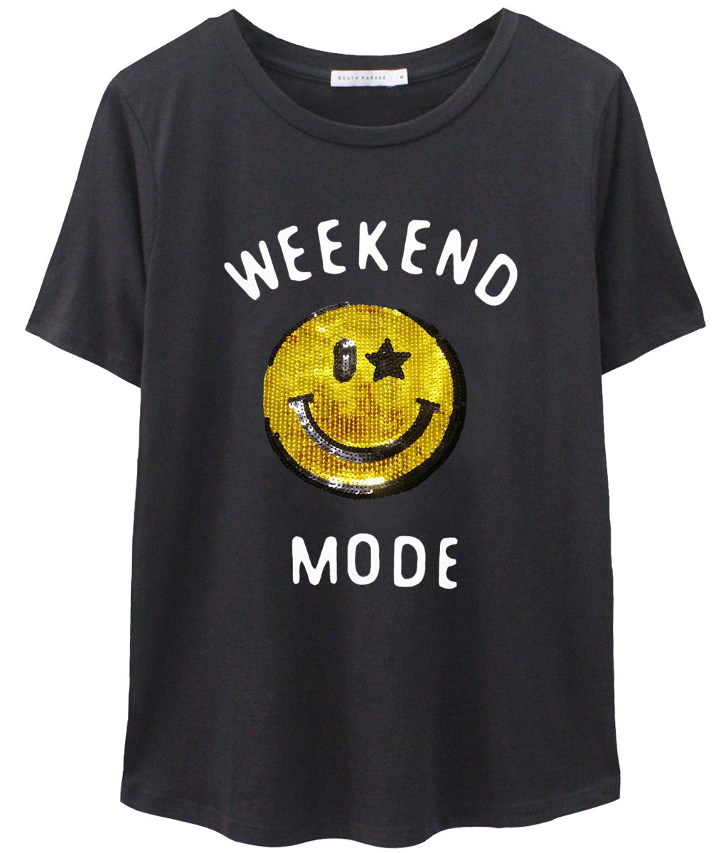 Lola - Loose Tee - Weekend Mode
