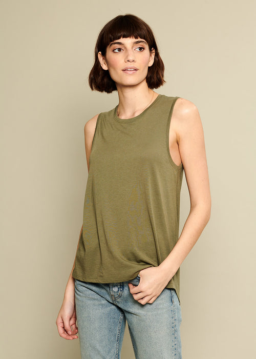 pima cotton tank top