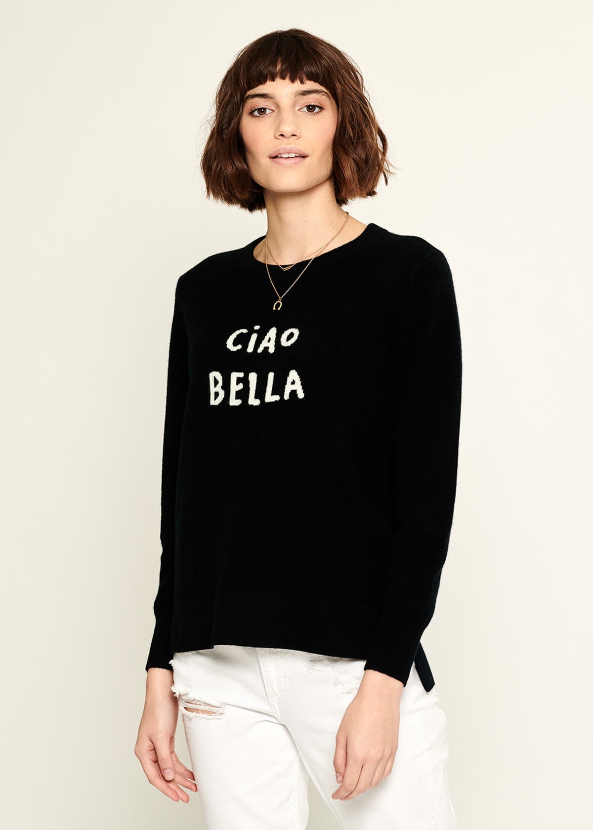 Sophie - Sweater - Ciao Bella - Black