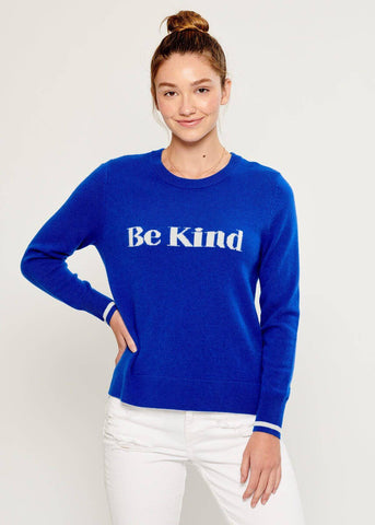 Sophie - Sweater - Be Kind - Blue