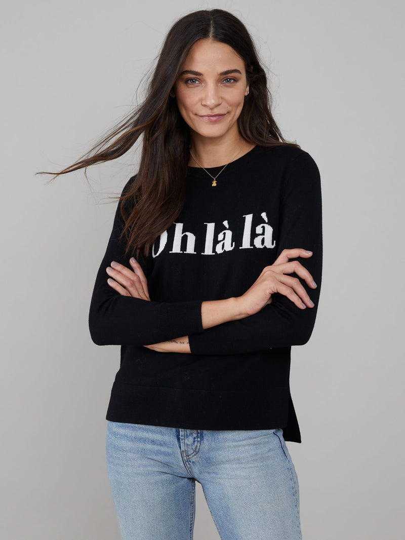 Sophie - Sweater - Oh La La - Black
