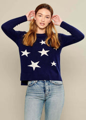 Sophie - Sweater - Stars - Navy