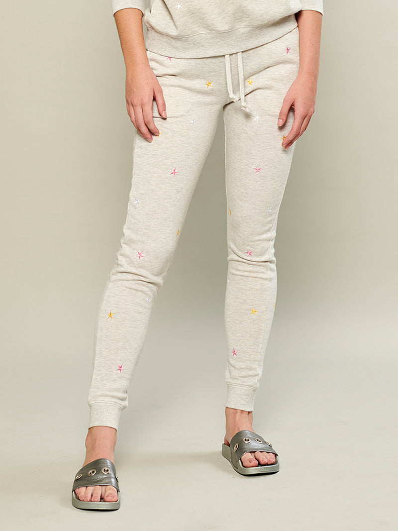 Lucy - Sweatpant - Mini Stars - Gray