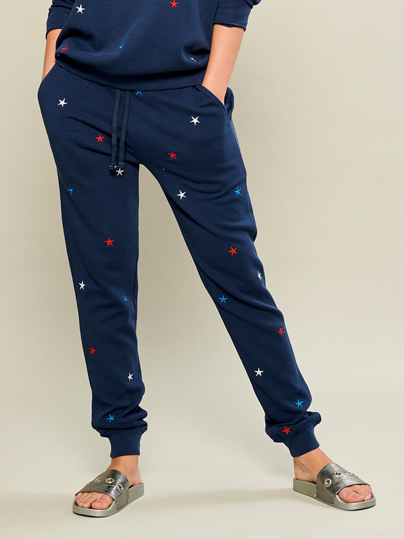 Lucy - Sweatpant - Mini Stars - Navy