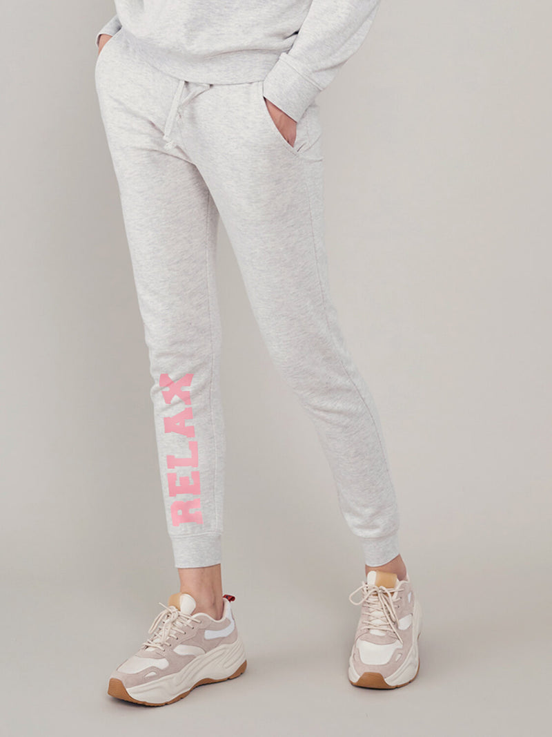 Lucy - Sweatpant - Relax - Light Heather Grey