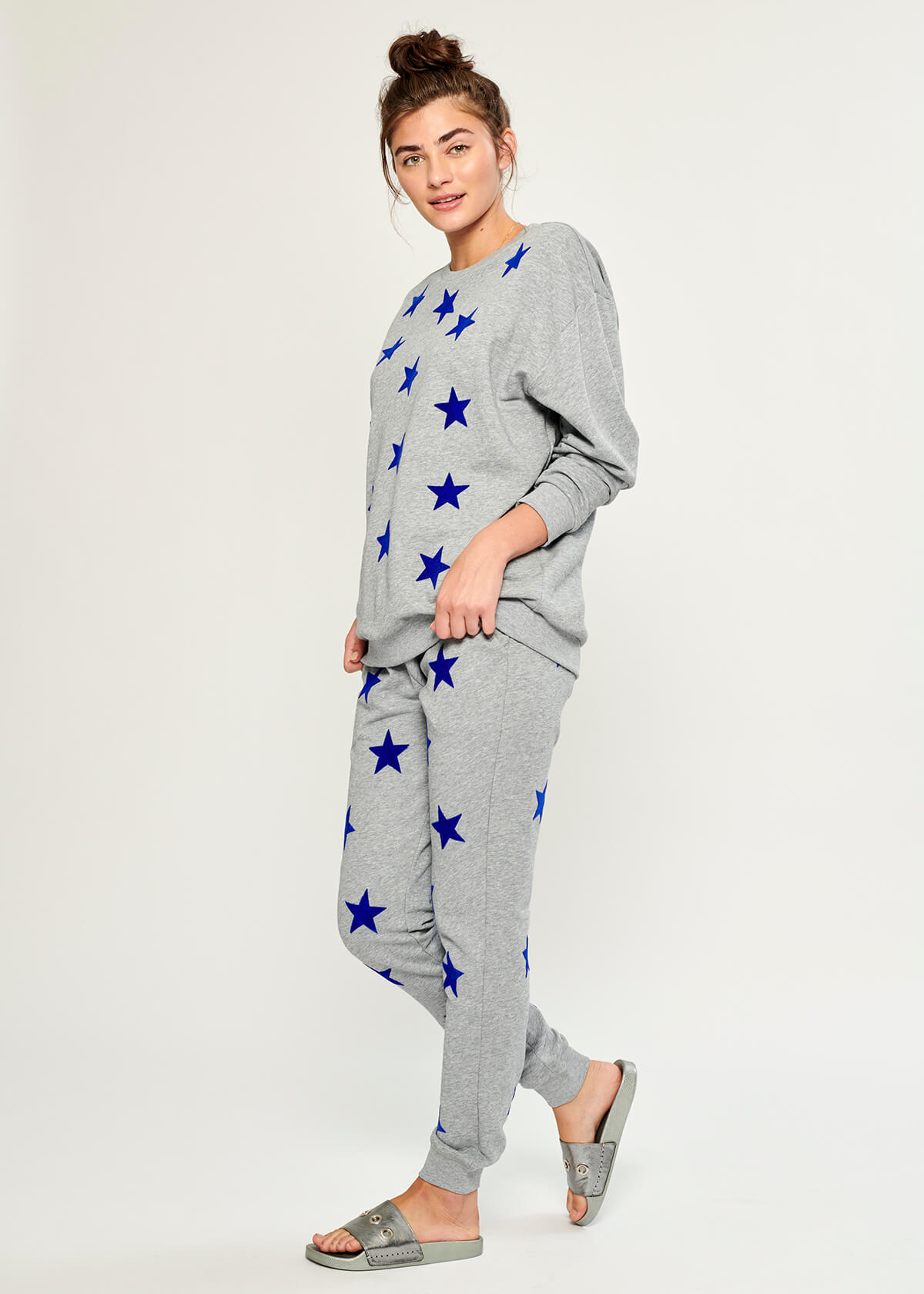 Lucy - Sweatpant - Super Star - Gray