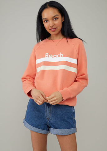 Rocky - Sweatshirt - Beach - Melon