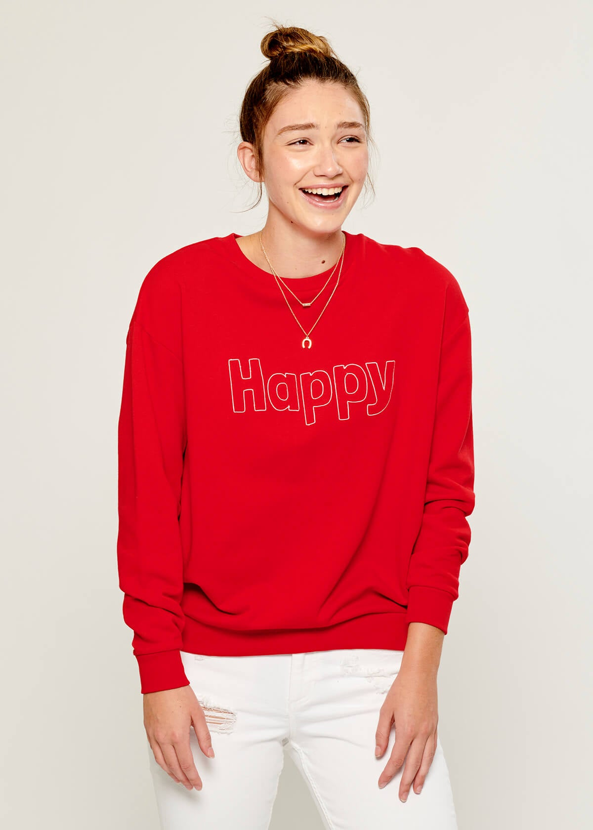 Rocky - Sweatshirt - Happy - Red
