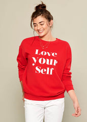 Rocky - Sweatshirt - Love Yourself - Red