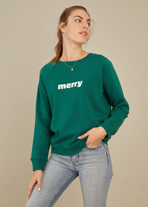 Rocky - Sweatshirt - Merry - Green