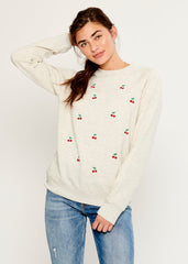 Rocky - Sweatshirt - Mini Cherries - Gray