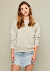 Rocky - Sweatshirt - Mini Stars - Gray