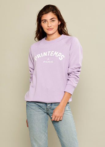 Rocky - Sweatshirt - Printemps A Paris - Lilac