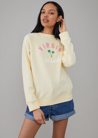 Rocky - Sweatshirt - Virgin Islands - Vanilla