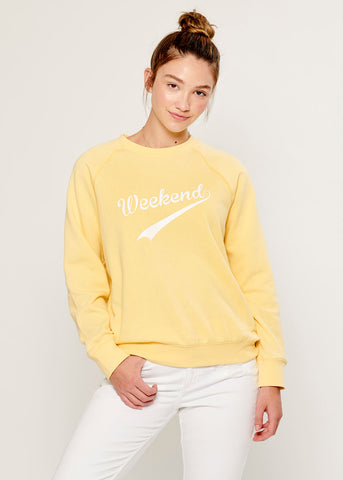 Rocky - Sweatshirt - Weekend - Yellow