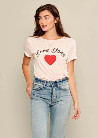 Lola - Loose Tee - Love Gang - Pink