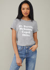 Lola - Loose Tee - St. Barths - Heather Gray