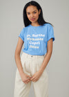 Jane - Boy tee - St Barths - Sky Blue