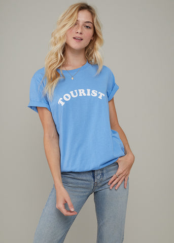 Jane – Boy Tee - Tourist - Sky Blue