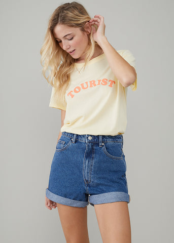 Jane – Boy Tee - Tourist - Vanilla
