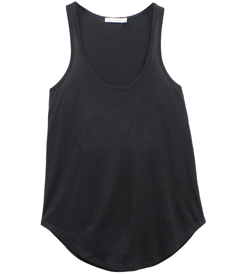 Bella - Racer Back Tank - Black