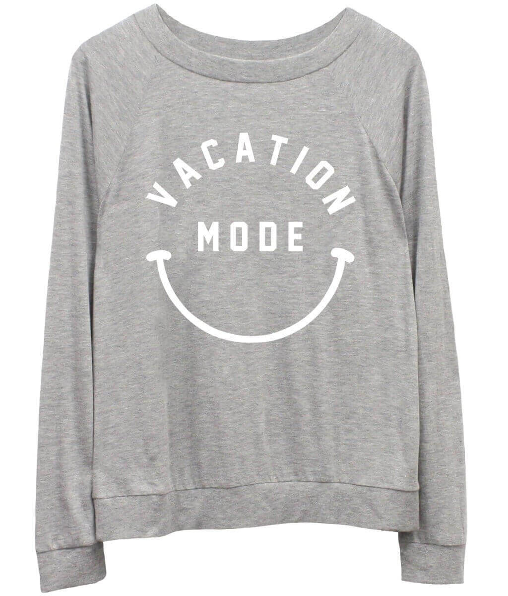 Candy - Long Sleeve Jersey  - Vacation Mode - Grey