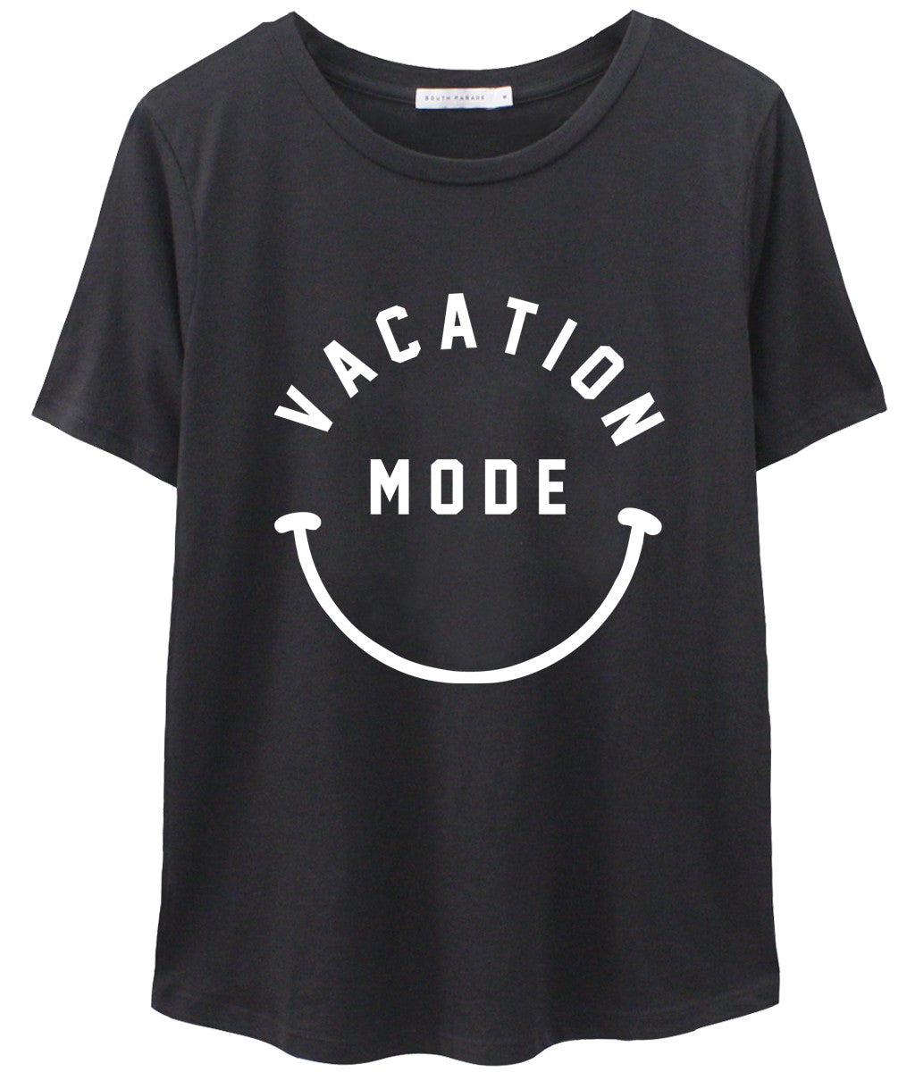 Lola - Loose Tee - Vacation Mode