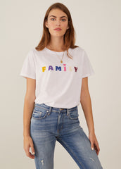 Jane - Boy Tee - Family - White