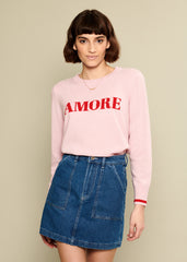 Sophie - Sweater - Amore - Pink