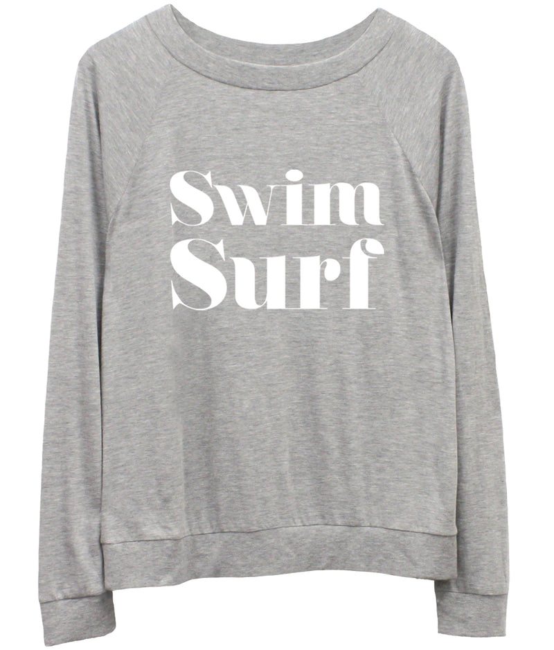 Candy - Long Sleeve Jersey  - Swim Surf - Heather Grey