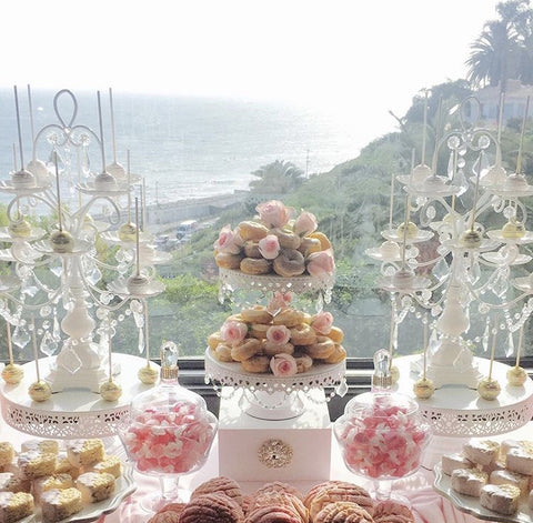 ... serve themselves and admire all aspects of the table comfortably. Your guests will likely take their time making sure to take in all of the eye candy! & How to Set Up a Dessert Table | Amalfi Decor