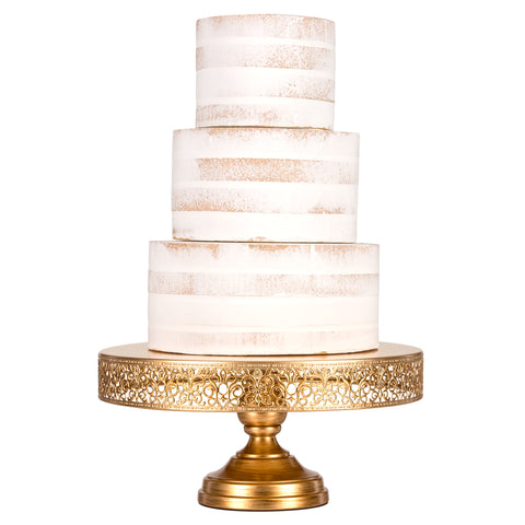 14 inch round wedding cake stand 14 quot antique gold wedding cake stand amalfi decor 10044