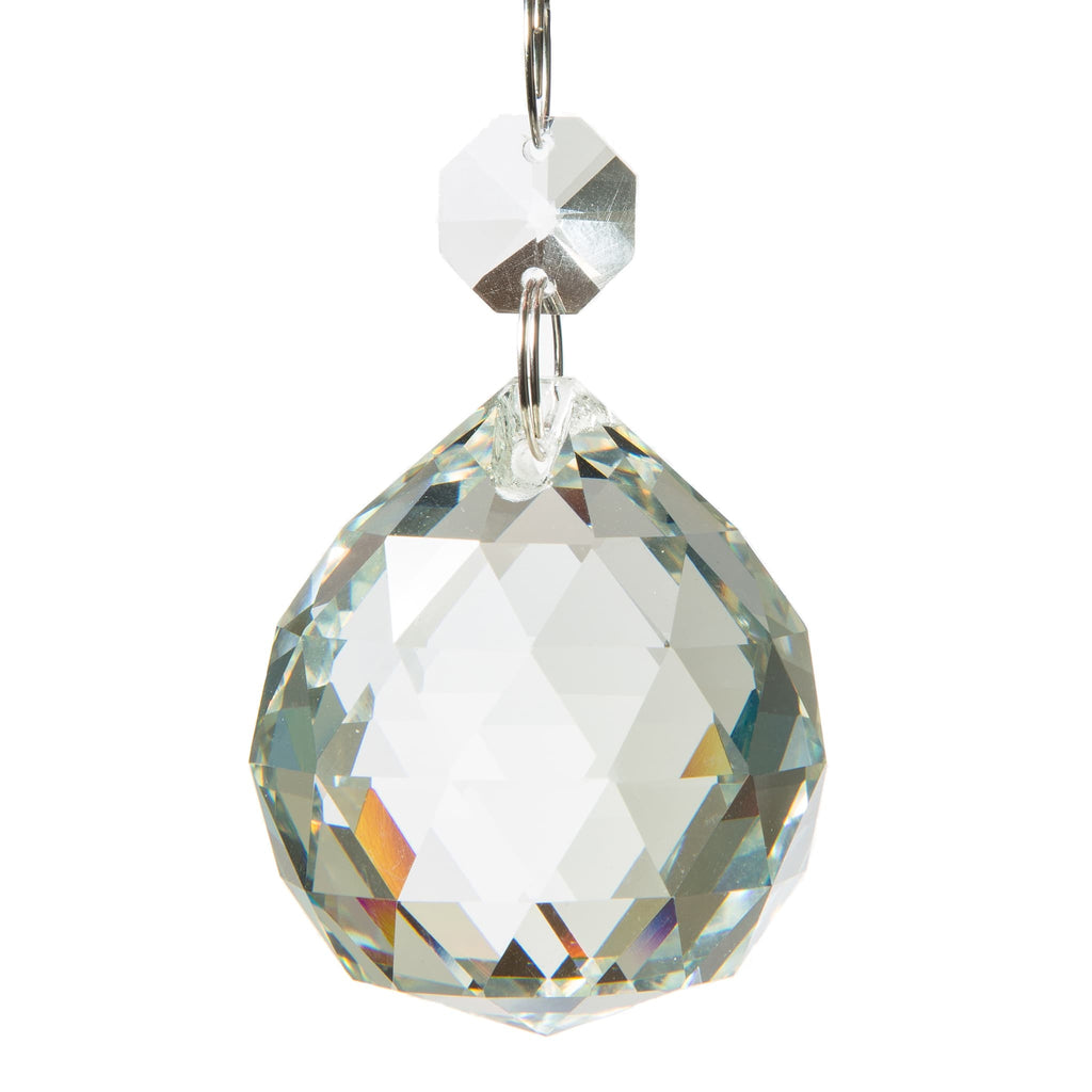 Image of: Authentic Glass Chandelier Crystals 1 5 Inch 40mm Crystal Ball S Amalfi Decor