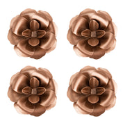 Rosette Magnet Set of 4 | Rose Gold