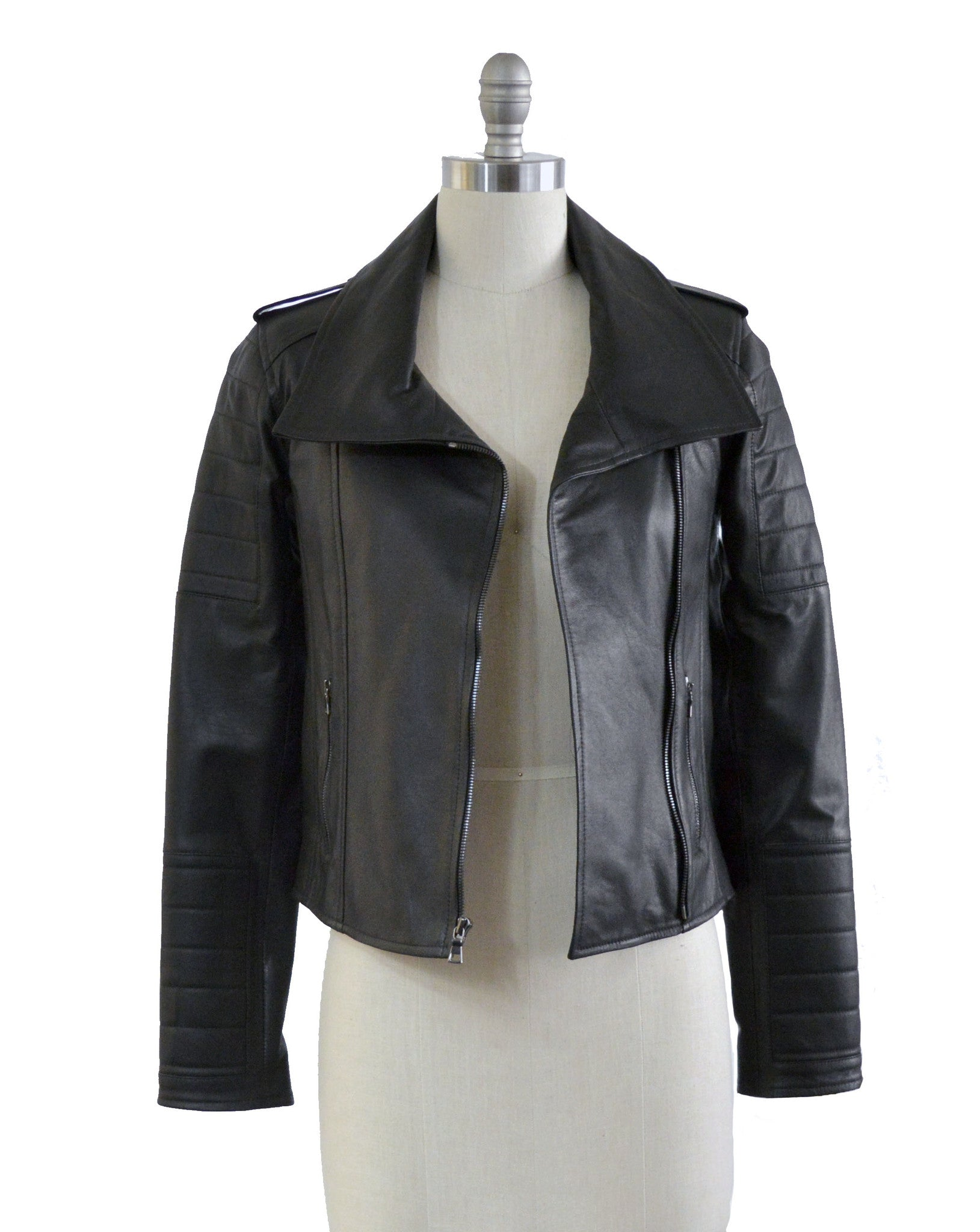 The Quilted Leather Jacket