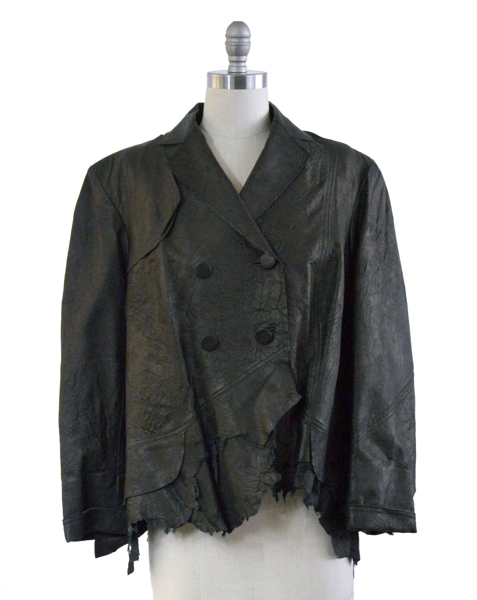 Double Wash Lambskin Jacket