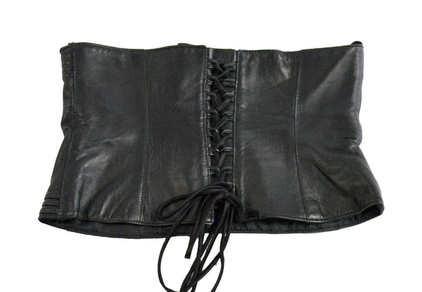 Adjustable Lambskin Bustier