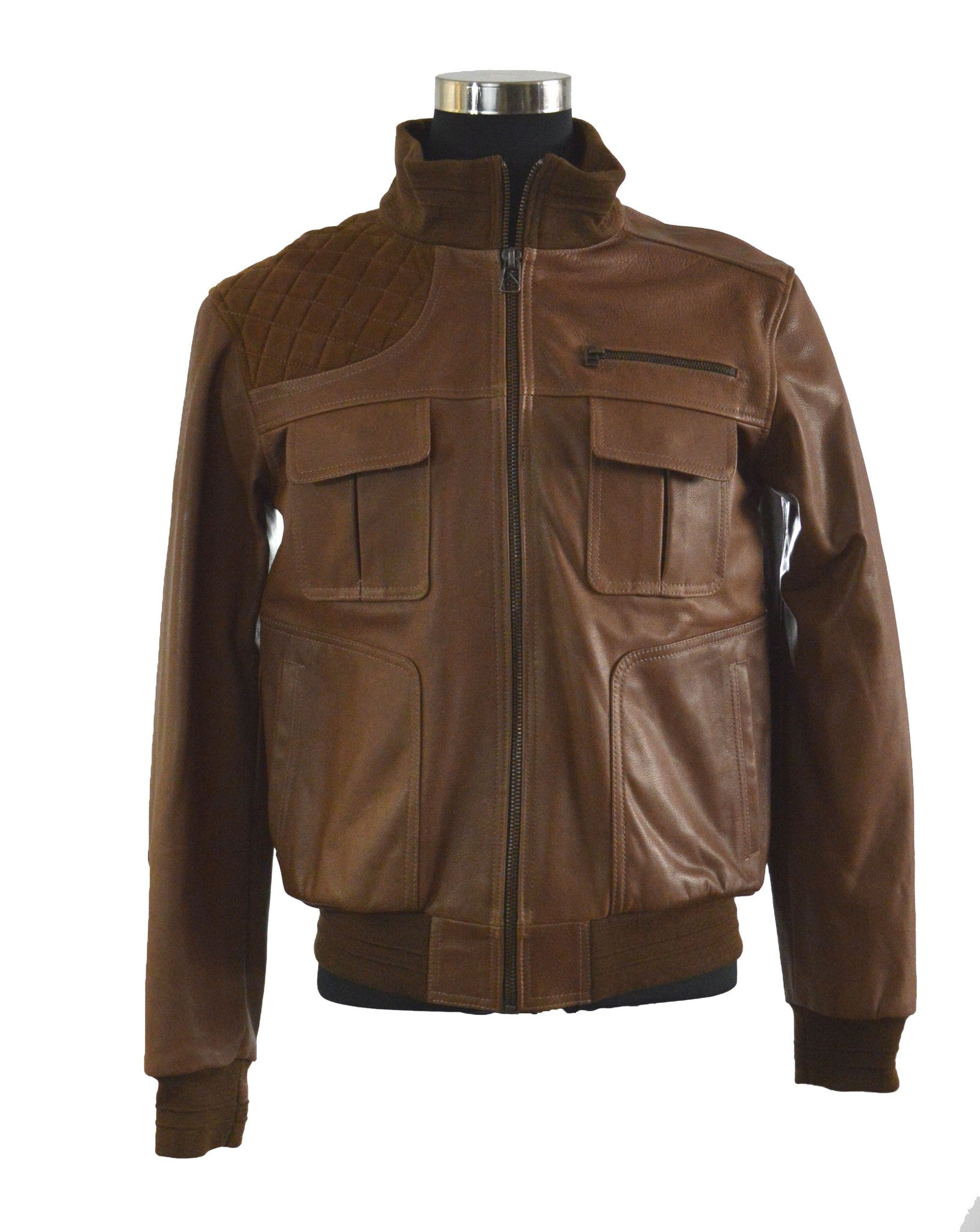 The Brown Bomber Jacket