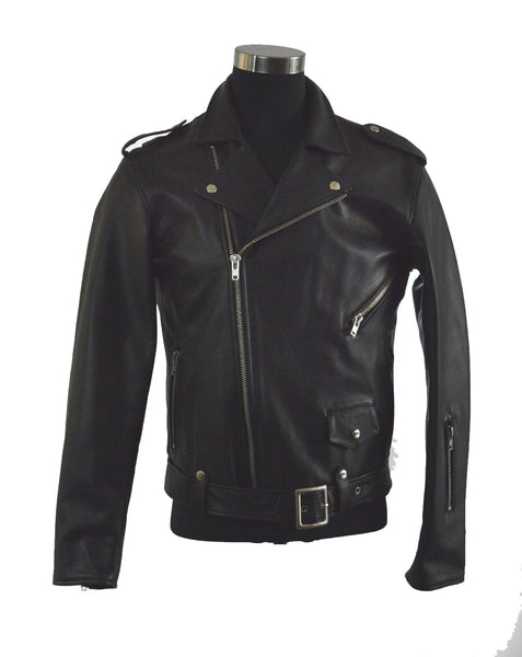Double Breasted Motorcycle Jacket